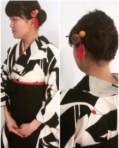 卒業式×袴の着付け♪
