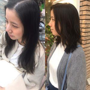 妊婦さん 出産前のヘアスタイル☆