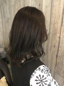 アッシュシャンプー 暗髪