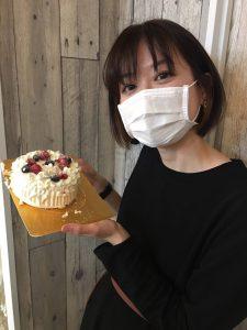 誕生日お祝いしてもらいました。