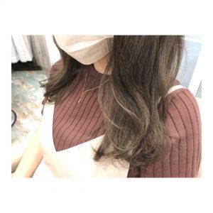 ◆イルミナカラー新色を使ったくすみベージュ◆