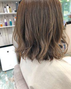 ◆黒髪からブリーチなしでベージュカラー◆