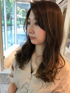 いつもと違ったヘアスタイルで(^-^)