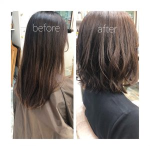 ◆バッサリ切っても扱いやすい髪型に^ ^◆