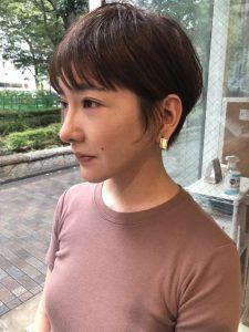 サイドにつながる毛流れを【ながれ前髪】が可愛い^ ^