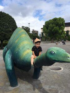 恐竜好きの息子の休日