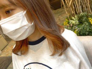 ◆インナーカラー/ビビットオレンジ◆