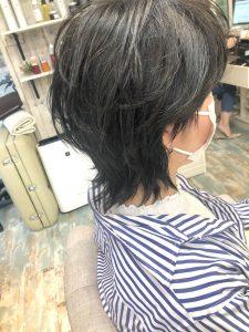 【お客様ヘア】大人ウルフレイヤー人気継続中です(^-^)