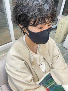 ショートヘアパーマスタイル【お客様ヘア】
