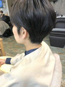 伊藤似合わせ小顔カットとイルミナカラーです!
