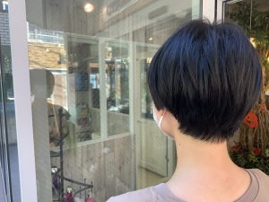 ☆暗髪シンプルマッシュボブ☆磯野