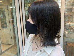 ☆秋の切りっぱなしボブ暗髪ヘアー☆